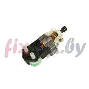 Двигатель (мотор) с редуктором венчиков для миксера Zelmer 252.1000 12008102 (793301)